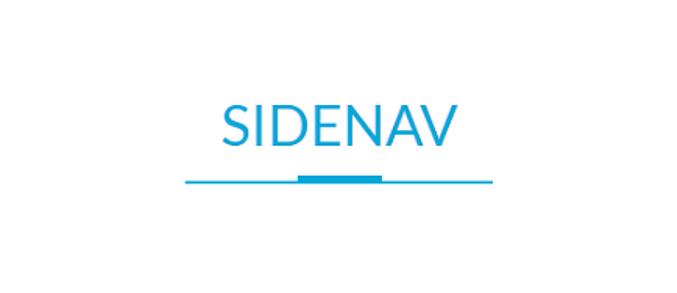 Projeto Sidenav